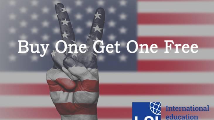 Promoção LSI – Buy One Get One Free