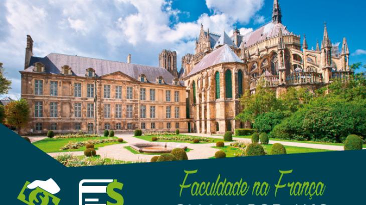 Faculdade na França por €300,00 por Ano