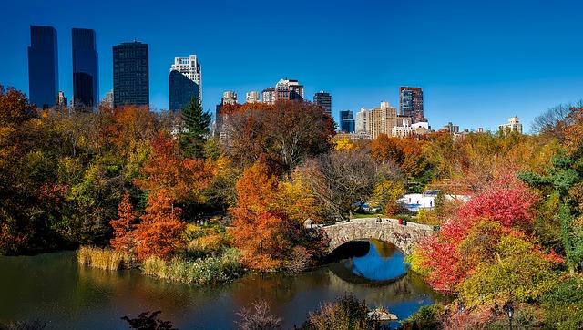 Paises mais visitados do mundo - Central Park, Nova York - EUA