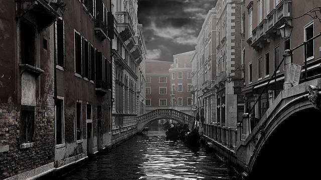 Países mais visitados do mundo - Canal da Gôndola, Veneza - Itália