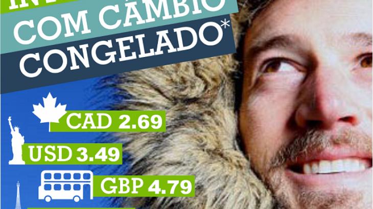 CÂMBIO CONGELADO!!!